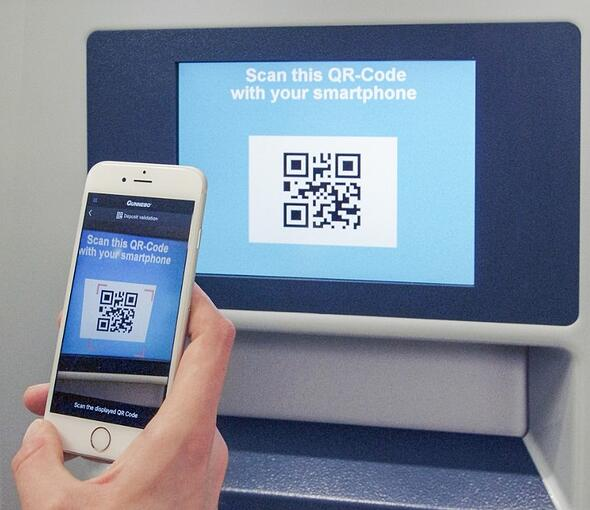 Contactless-Sealbag-Deposit-with-QR-Code-App