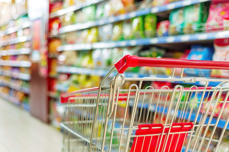 Supermarket-shopping-trolley
